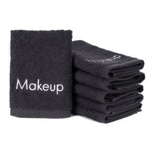 Terry Embroidered Makeup Removal Washcloths