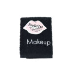 Terry Embroidered Makeup Removal Washcloths - 3 Pack