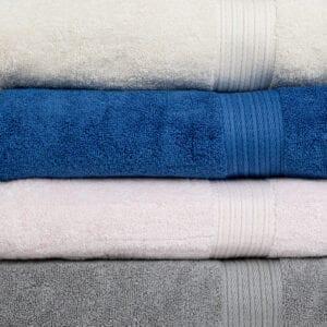 Cambridge Linen Three Piece Towel Set Close Up