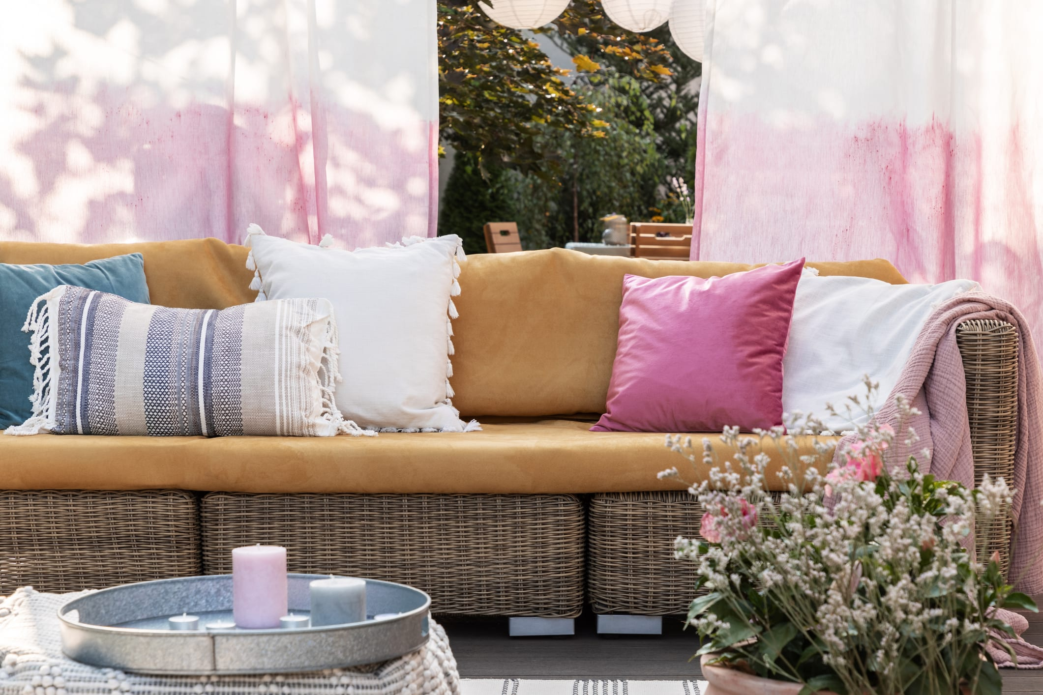 Usher in Warm Weather with Pops of Color